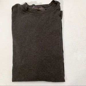 Banana Republic Gray Cotton T-Shirt size Med
